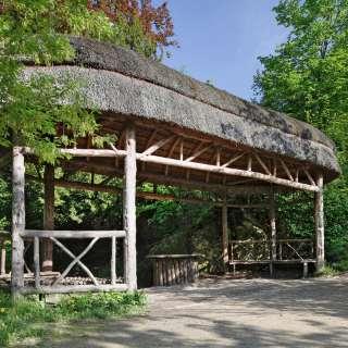 Temple de l'amour; Temple rustique